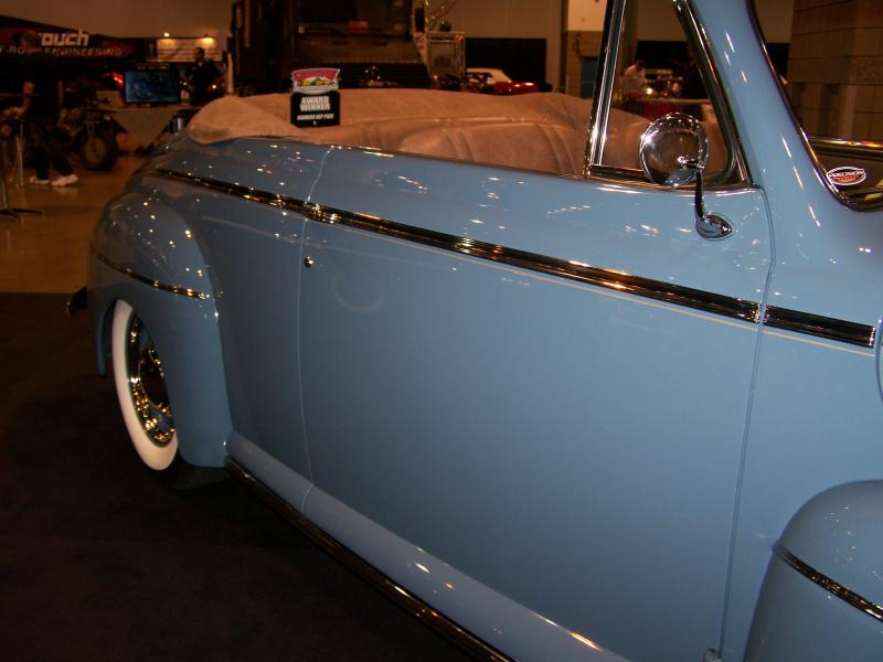 42 Ford convertible