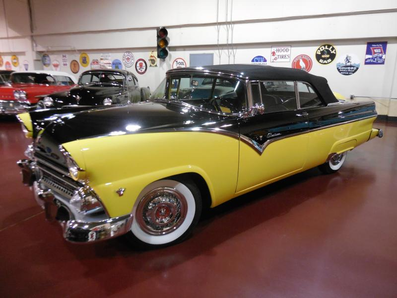 55 Ford Sunliner Convertible