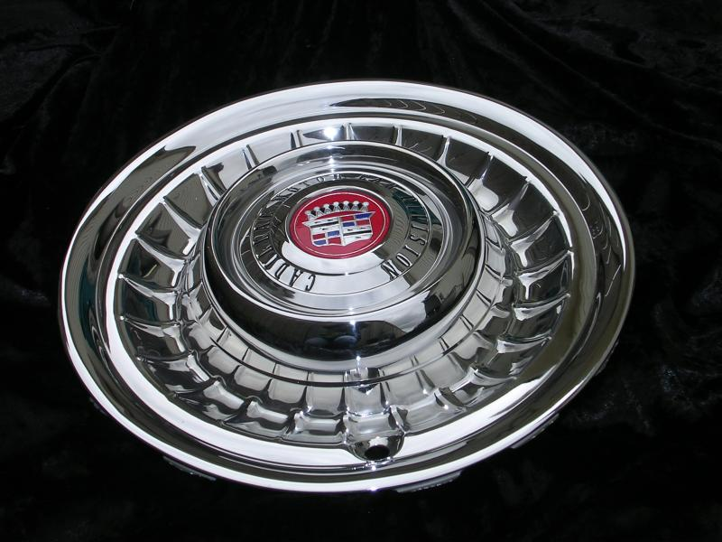 58 Cadillac Hubcap