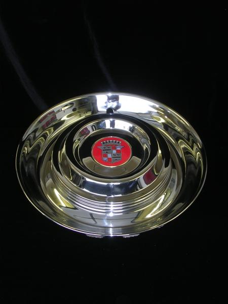 54 Cadillac Hubcap