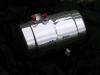 polished gas tank