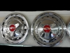 57 Chevy Hubcaps