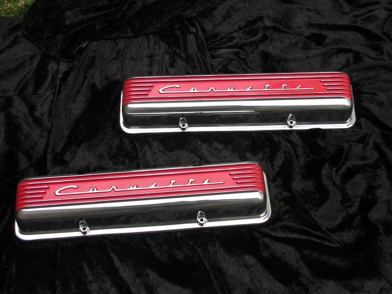 Corvette valve covers